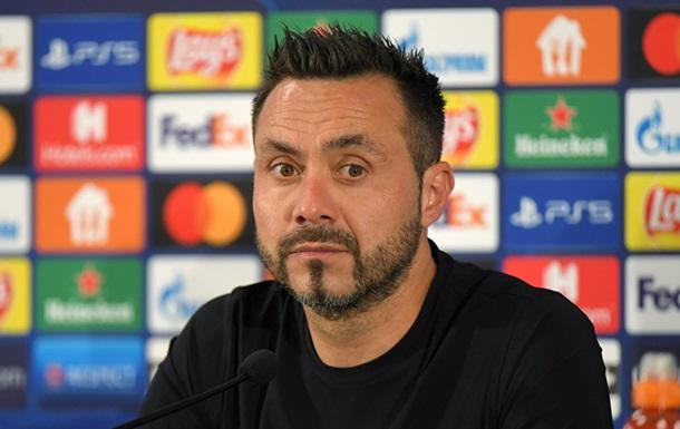 Де Дзербі: В Україні потрібно провести дуже хороший матч, щоб потрапити в групу ЛЧ