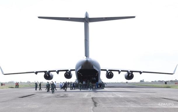 Український евакуаційний літак вилетів до Кабула