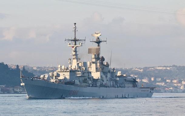 Эсминец НАТО зашел в Черное море