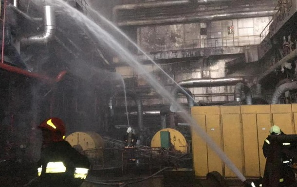 Пожежу на Бурштинській ТЕС загасили
