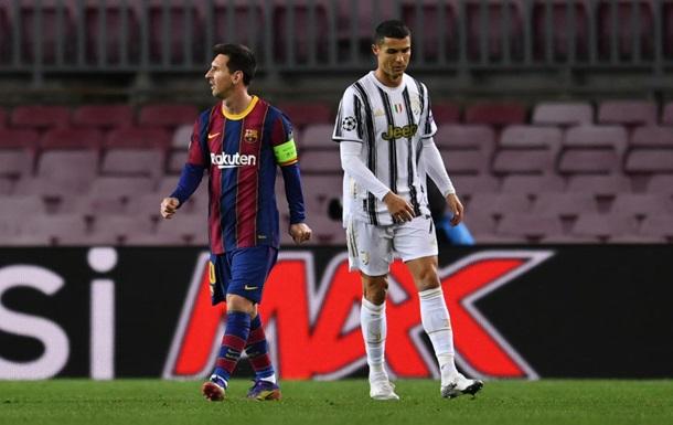 Роналду і Мессі немає серед претендентів на приз кращого гравця УЄФА