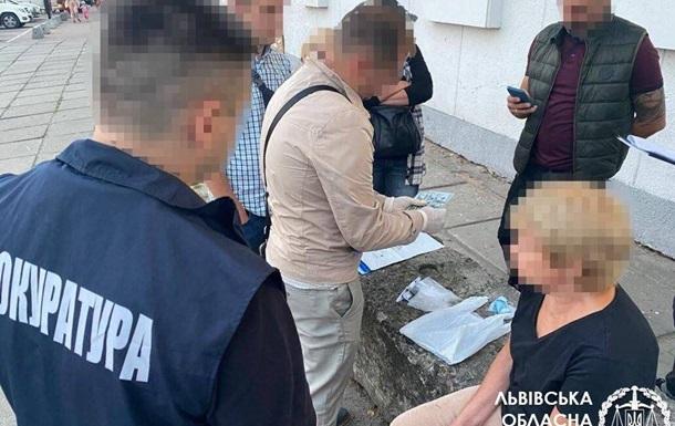 Во Львове на взятке задержана чиновница архитектурно-строительной инспекции