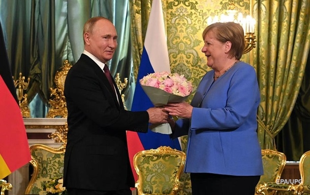 Меркель и Путин обсудили Украину, Афганистан и газ