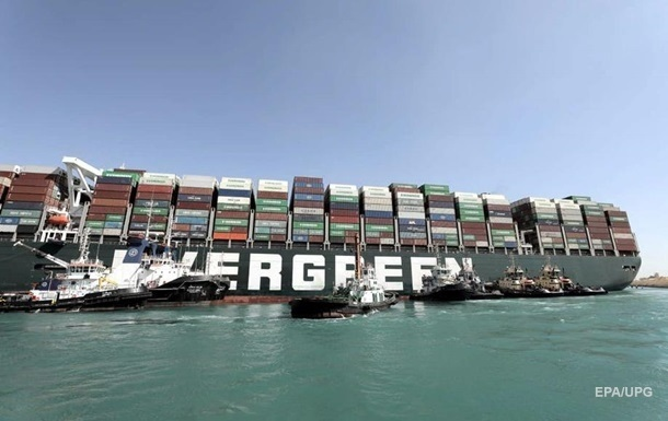 Ever Given успішно пройшов через Суецький канал
