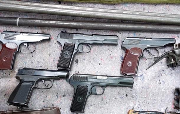 СБУ виявила підпільну збройову майстерню