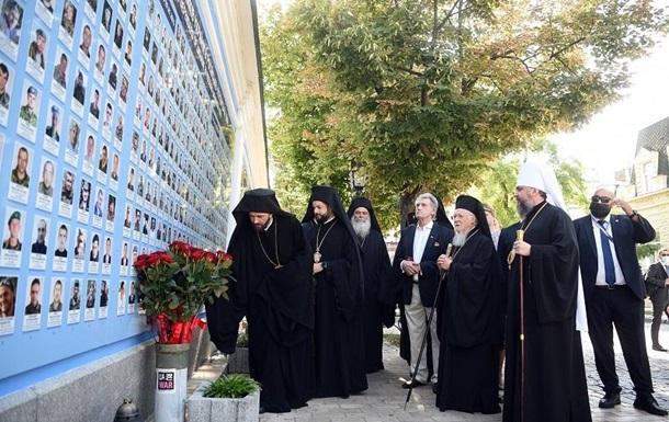 Варфоломій вшанував пам ять захисників України