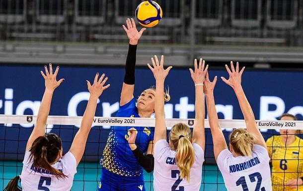 Жіноча збірна України здобула першу перемогу на ЧЄ-2021 з волейболу