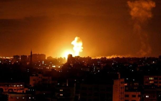 ВПС Ізраїлю обстріляли ракетами сектор Газа