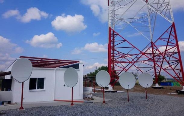 На Луганщині побудували телевежу для мовлення на ОРДЛО