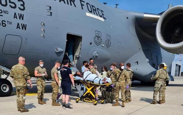Афганська жінка народила в літаку ВПС США під час рейсу з Кабула