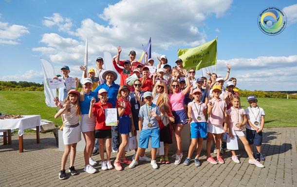 Всеукраїнський дитячий тур по гольфу зібрав рекордну кількість учасників