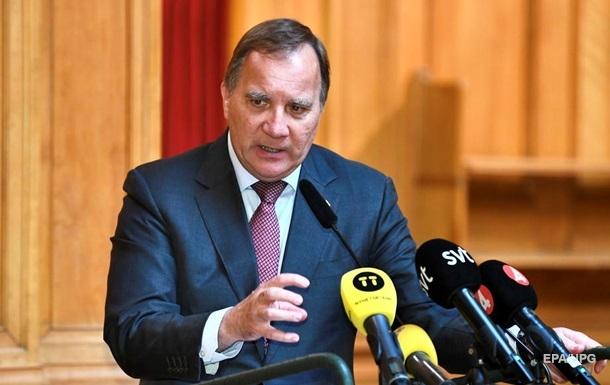 Премьер Швеции анонсировал свою отставку на осень