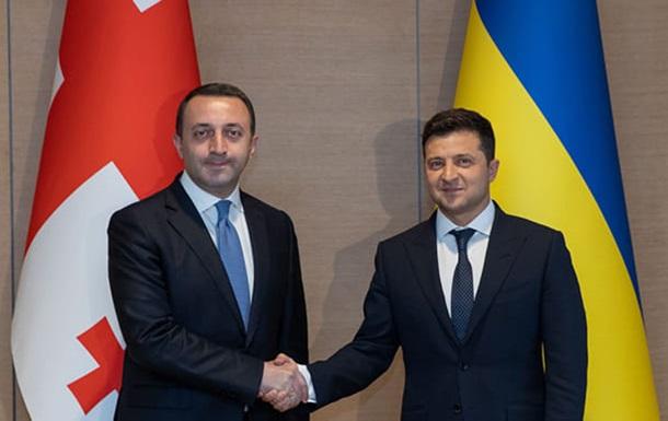 Президент зустрівся з прем єром Грузії