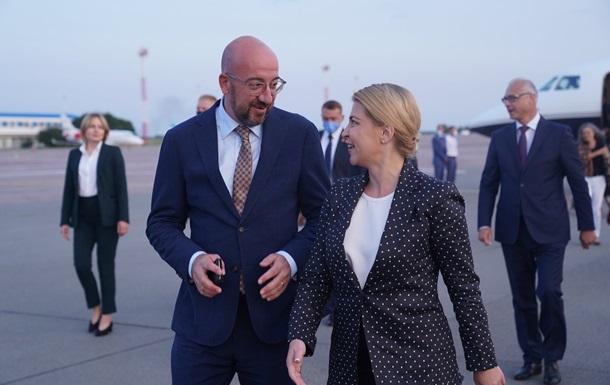 В Украину прибыл глава Евросовета