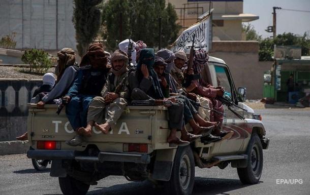 Таліби заявили про облогу непідконтрольної провінції