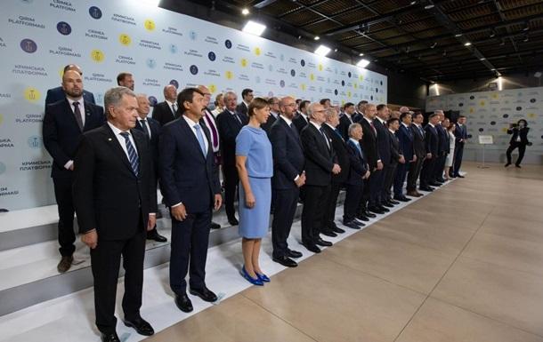 Кримська платформа: заяви США, ФРН і Франції