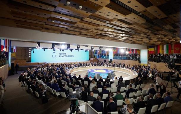 МЗС опублікувало декларацію Кримської платформи