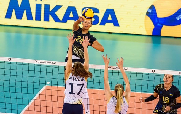 Українські волейболістки здобули другу перемогу поспіль на Євро-2021