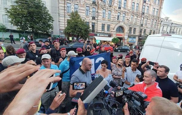Представники закритих телеканалів протестували в центрі Києва