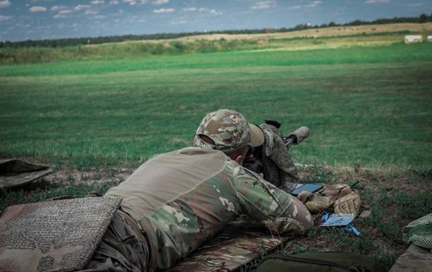 У Київській області снайпери Нацгвардії пройшли підготовку за системою НАТО