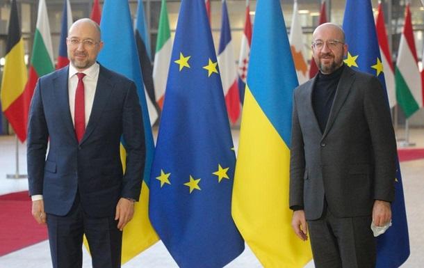 Шмыгаль пошутил о сходстве с главой Евросовета