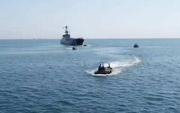 В Одесі відбувся військово-морський парад