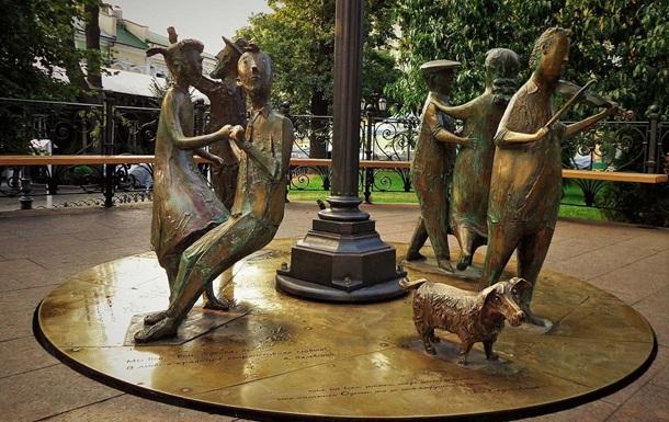 В Одессе ребенок получил ожоги, упав на скульптуру