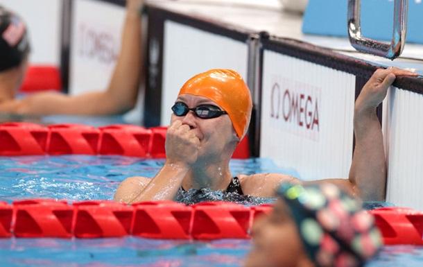 Мерешко - паралімпійська чемпіонка на дистанції 50 м вільним стилем, у Гонтар - бронза