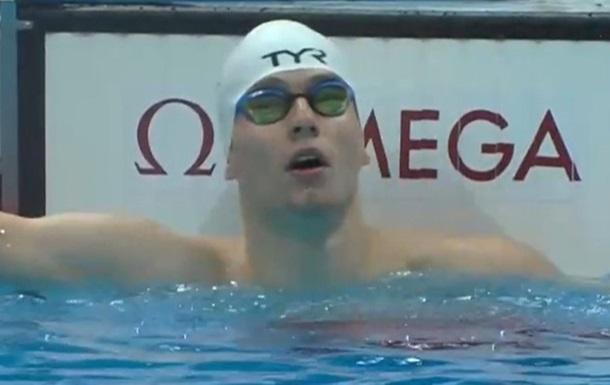 Вірченко став другим на дистанції 100 м батерфляєм