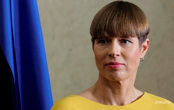 Президент Эстонии сказала, что советует не инвестировать деньги в Украину