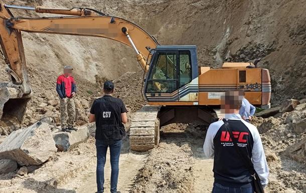 СБУ викрила масштабне розкрадання базальту