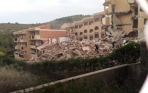 В Іспанії обвалився триповерховий житловий будинок