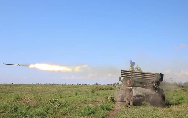 Сепаратисти за добу відкривали вогонь п ять разів