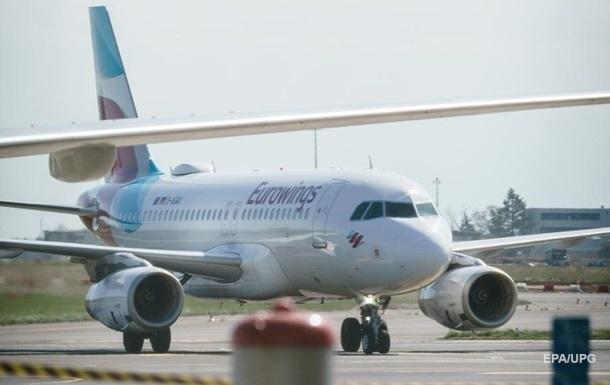 Німецький лоукостер Eurowings почне літати в Україну