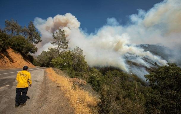 Лісові пожежі наближаються до Лос-Анджелесу