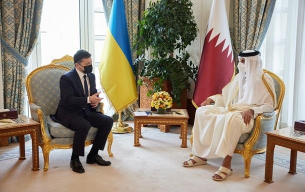 Зеленський обговорив з еміром Катару евакуацію з Афганістану