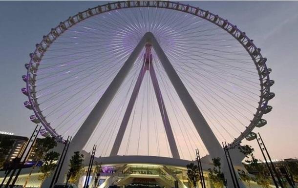В Дубае строят гигантское колесо обозрения