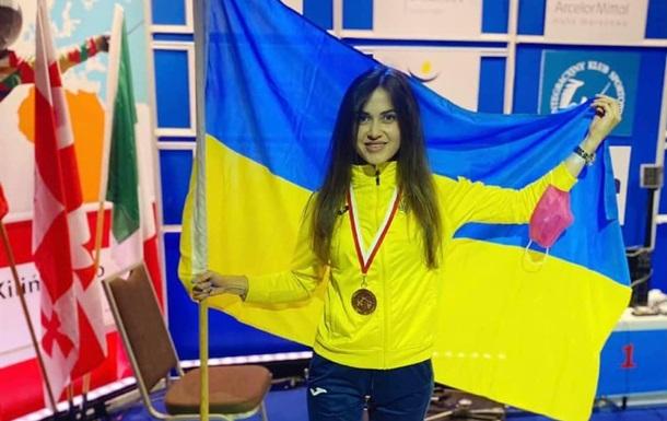 Морквич стала срібною медалісткою Паралімпіади у фехтуванні на рапірі