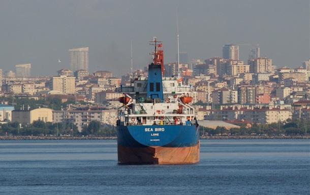 В Критском море затонул сухогруз,  следовавший из Украины в Тунис
