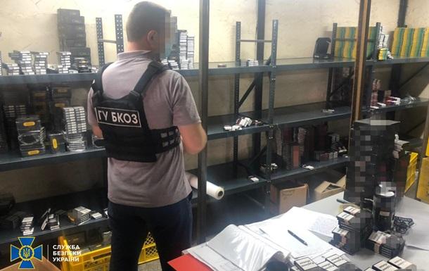 В Одесі працював цех з виробництва контрафактних тютюнових виробів
