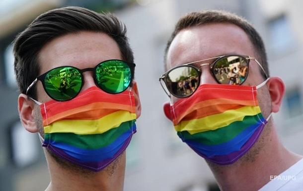 В Одессе проходит ЛГБТ-марш