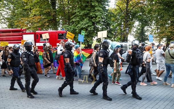 ЛГБТ-марш в Одессе: задержано 20 человек