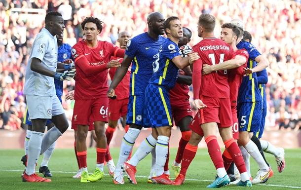 Ливерпуль, играя тайм в большинстве, не дожал Челси