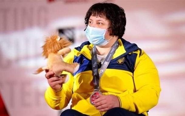Олійник - срібна призерка Паралімпіади-2020