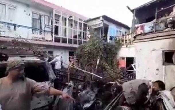 Вибух у Кабулі був викликаний ударом США - ЗМІ
