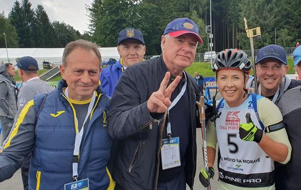 Джима - дворазова віце-чемпіонка світу з літнього біатлону
