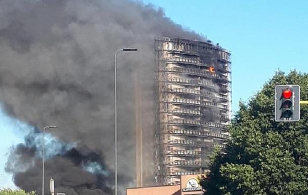 В Італії спалахнув багатоповерховий житловий будинок