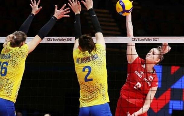 Українські волейболістки гідно програли в 1/8 фіналу ЧЄ