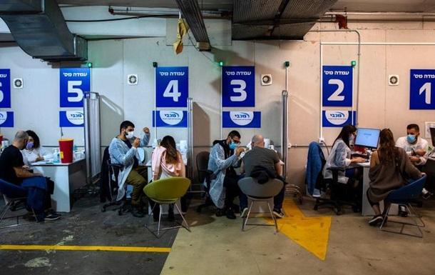 Ізраїль: третю дозу вакцини пропонують усім від 12 років