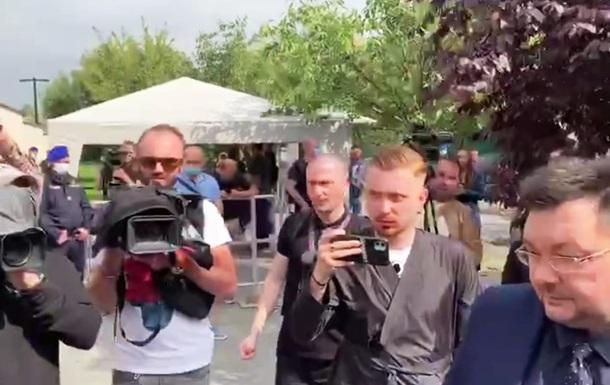 Журналісти ЗМІ, що підпали під санкції, вийшли на протест до посольства США